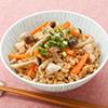 炊き込みご飯(海かおる ホイスターソース)